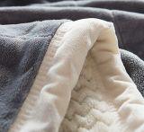 منافس من الوزن الخفيف رمز مخمل غطاء كلّ فصل مرجان صوف غطاء