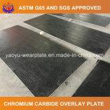 Bimetallisches Chrom-Karbid überlagerte Stahlblech-Abnützung-Platte Zhangjiagang-Yaoyu