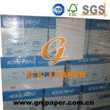 papier-copie 75G/M2 dans 500sheet par rame 10reams par carton