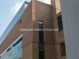 Прочный тип плакирование WPC материальный водоустойчивый деревянный стены от Китая