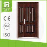 De acero de alta calidad personalizado Diseño de la puerta de seguridad principal