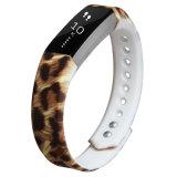 Padrões de impressão OEM borracha faixa de relógio de silicone para alta Fitbit Hr