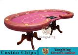 Таблица покера Техас Holdem казина с преданным планом таблицы казина 10 игроков поставкы фабрики ног тигра (YM-BA11-2)