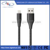 Zugelassenes umsponnenes aufladennylonnetzkabel USB-3.0 Mfi mit Blitz-Verbinder für Apple-Einheiten