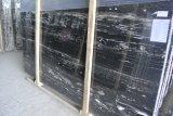 Серебристый Portoro/Черного Дракона выложены мраморной плиткой и мрамором полом слои REST для использования отель