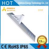 lampe extérieure solaire de réverbère de 80W DEL avec le détecteur de mouvement de radar à micro-ondes