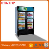 2 comercial puerta fría bebidas Mostrar nevera