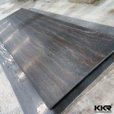 blad van de Oppervlakte van 12mm het Zuivere Zwarte (kkr-M1718) Acryl Stevige
