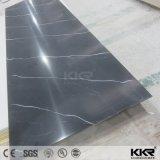 surface solide acrylique de configuration de texture de 12mm pour le panneau de mur