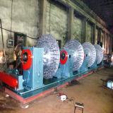 Machine horizontale de tressage de câblage cuivre pour le boyau en caoutchouc