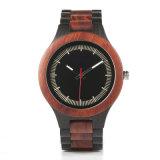 Reloj de madera del cuarzo del reloj del nuevo regalo promocional del estilo