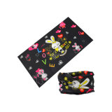 Un super absorbants Kids Bandana Bear Logo Design personnalisé imprimé (YH-HS437)