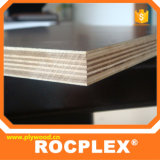 película da madeira compensada de 2440X1220 15mm enfrentada para Shuttering concreto moldado