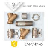 Válvula de bola en asa de hierro de mariposas /mango (EM-V-B145)