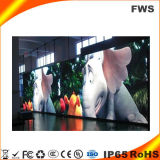 Тонкий светодиодный дисплей для размещения внутри помещений в аренду светодиодный экран на стене (P2.5 видео)