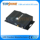 Topshine de qualité industrielle Multi Tracker GPS double carte SIM