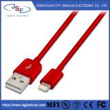 Certificação das IFM 8 Pino de Sincronização rápida e cabo USB de carregamento para iPhone X/8/8 Plus