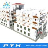 2017 조립식 호화스러운 모듈 사무실 건물로 가벼운 강철 별장 집