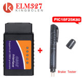 New Elm327 V1.5 Bluetooth/WiFi OBD2 véritable PIC18F25K80 Code Reader Elm 327 Obdii V1.5 Outil de diagnostic diesel/essence sur Android/Ios