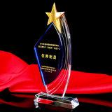 Beste Qualität personifizieren Kristallpreis-Trophäe mit Fünf-Sterne