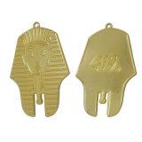 주문을 받아서 만들어진 가장 싼 주문 은 둥근 금속 알루미늄 명찰