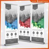 Publicité de plein air d'impression personnalisée Stand 800*200 Al-Alloy Roll up Banner
