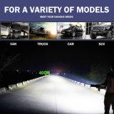 Barre combinée tous terrains d'éclairage LED de CREE de la jeep 50inch de la rangée 480W 4X4 d'accessoires de véhicule double