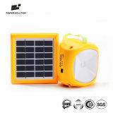 キャンプのための携帯電話の充電器が付いている再充電可能なLEDの太陽ランタンランプ
