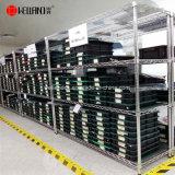 Rack de stockage de l'entrepôt industriel personnalisée OEM Chrome Heavy Duty Wire Mesh longue étendue de rayonnages métalliques