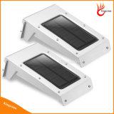 Sensor de movimiento de energía solar resistente al agua de pared de luz solar