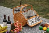 De milieuvriendelijke Aangepaste Mand van de Wilg voor Picknick