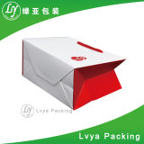 Kraft de alta calidad de la bolsa de papel impreso con mango de papel