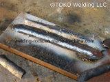 Toko E6013 vormt de Gemakkelijke Verwijderbare Staven van het Lassen van het Type van Stok van het Koolstofstaal slakken