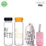 De nieuwe Populaire Creatieve Goedkope Fles 500ml van het Water van het Glas