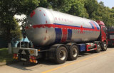 34,5cbm 35,5cbm Mobile Tanque de Almacenamiento de Gas propano Gas Station Bobtail carretilla carretilla dispensador de llenar el tanque cisterna