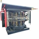 Coquille en acier de l'énergie de fréquence moyenne de l'enregistrement de l'induction four de fusion en aluminium