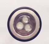 2 магнитов 3LED Убирайте инструменты светодиодный фонарик