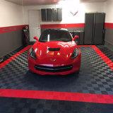 À prova de umidade Wear-Resistance Garagem antiderrapagem removível de intertravamento de piso de PVC