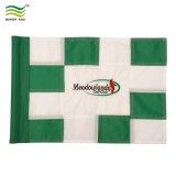 Поле для гольфа флаг с пластиковой трубки вставлены в левой опоре втулку Custom мини-гольф флаг