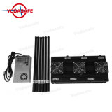 Radio de alta potencia de 150 metros Jamming Systemer, Jammer para 2G850MHz/2G1900MHz/3G2100MHz/4G700MHz/4G2600MHz/Wi-Fi2.4G