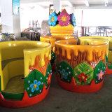 Atractivo Juego! ! Los niños del parque de diversiones románticos paseos en taza de café de portátiles