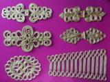 Decorazione cinese Handmade tradizionale della guarnizione del fermo del tasto della chiusura della rana del nodo