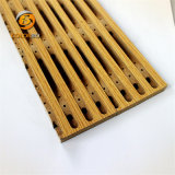 Réduction du bruit et Reverbe Ratio Bois panneau en bois de l'acoustique