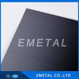 Strato rivestito dell'acciaio inossidabile del titanio nero della linea sottile