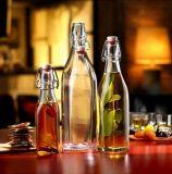 1000ml 500ml 250ml Customzied bebendo garrafas de vidro superior do Giro