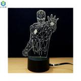3D Светодиодный ночник новаторских настольный светильник с неограниченными возможностями