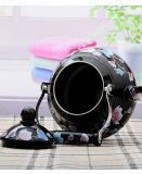 1.5L y 2.0L/2.5L Asa cerámica de color negro esmaltado completo de la impresión de flores de calentador de agua
