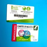 Smart Card senza contatto della scheda di chip di alta frequenza 13.56MHz RFID di obbligazione CR80 per il biglietto elettronico