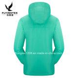 2018 a las mujeres de la primavera de transpirable chaqueta Softshell ropa deportiva al aire libre