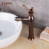 Fyeer 2018の新しく旧式な銅の浴室の容器のコックはとのスプレーを引き出す